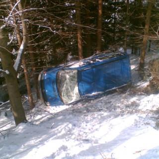 Nehoda-Mercedes-Deštné